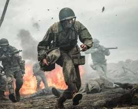 Andrew Garfield stars as 'Desmond Doss' in HACKSAW RIDGE. ©Lionsgate. CR: Mark Rogers.